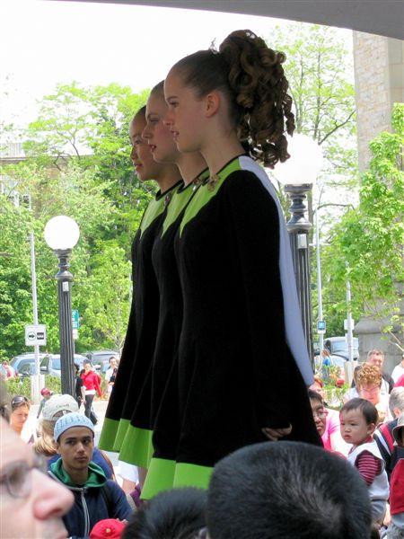 Ирландский танец.