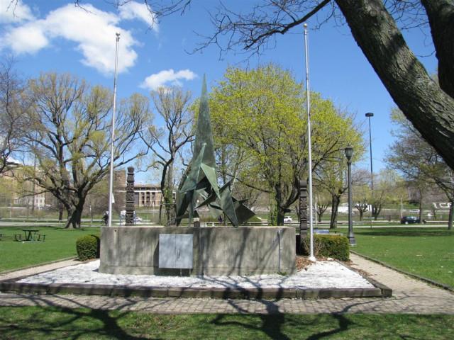 Мемориал памяти Венгерского восстания 1956-го года.