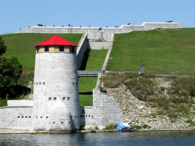 Вид на форт Генри