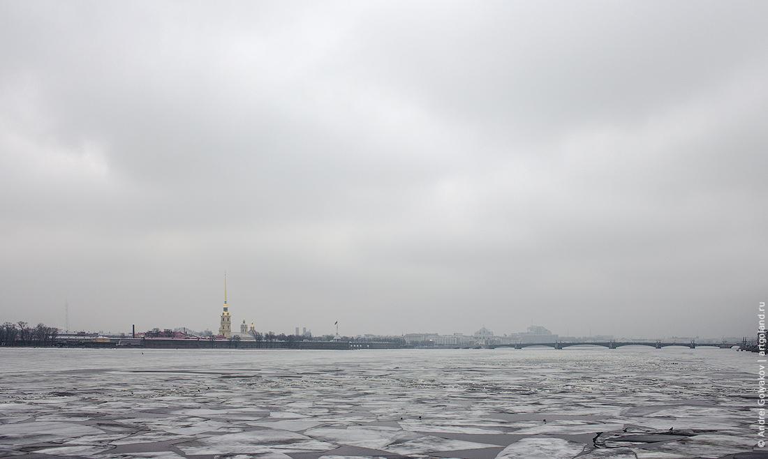 Весна в Петербурге