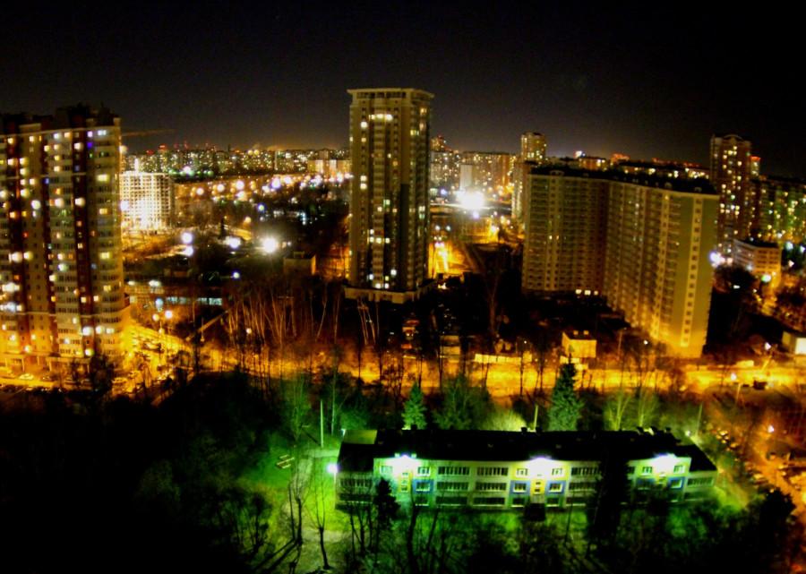 москва ночь