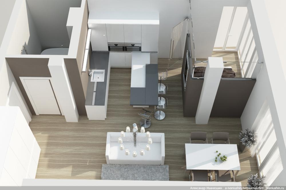 Квартира планировка дизайн