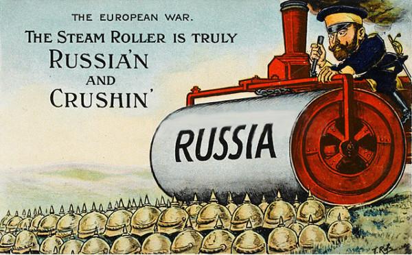 Первым таким местом является тезис о неминуемости победы России в Первой мировой войне. Оказывается, в 2016 году есть люди, которые в этом сомневаются. В связке с этим тезисом идут интересы в распределении плода победы над Германией, как держав союзников России, так и февральских заговорщиков.