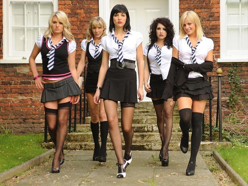 Самые красивые девочки школьницы