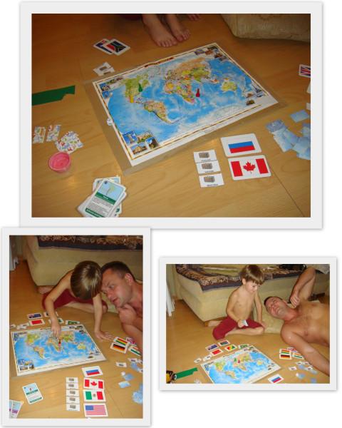 Игра Путешествие по миру111