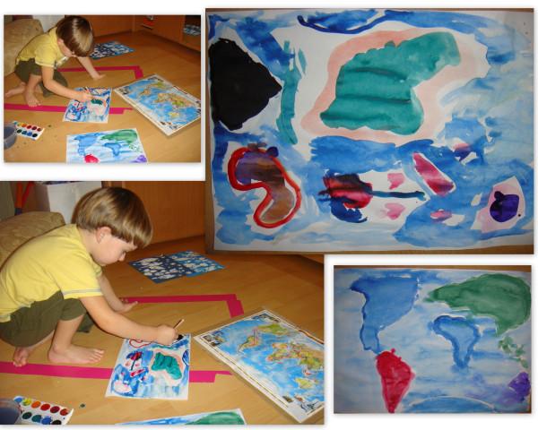 Тимина карта мира111