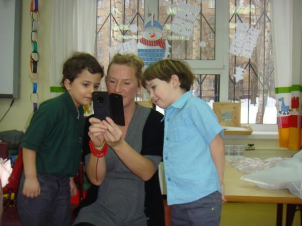 НГ школа С учительницей