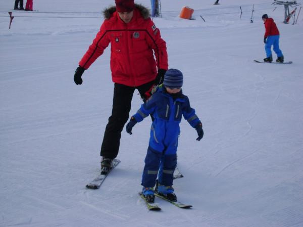 4 года горные лыжи
