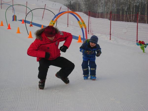 4 года горные лыжи2