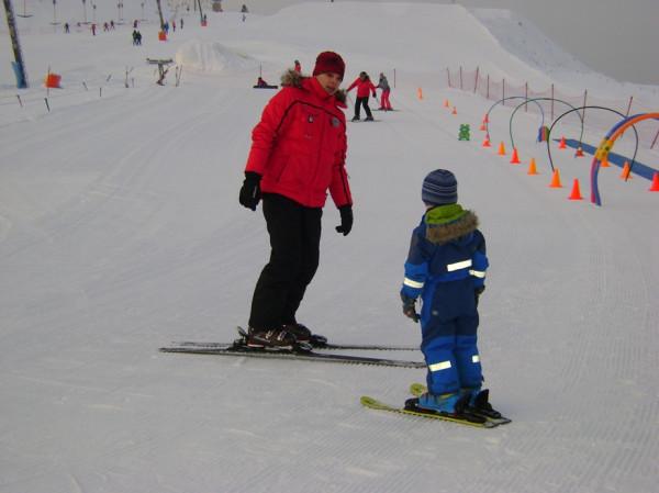 4 года горные лыжи 3