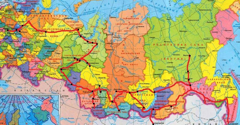 Карта РФ-4