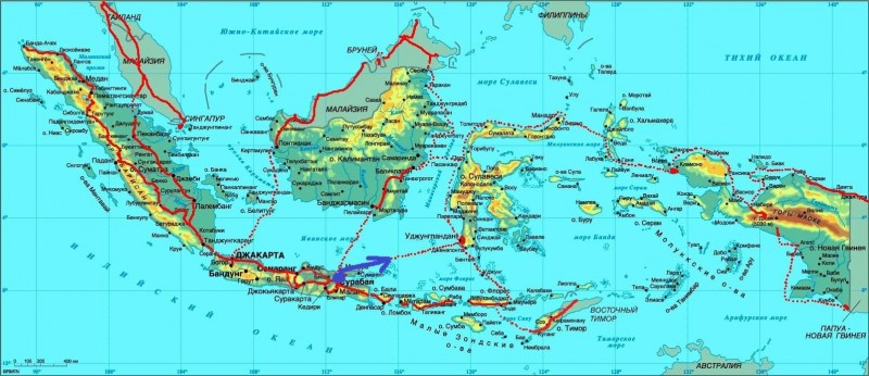 Карта Индон-1