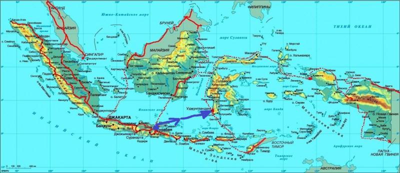 Карта Индон-02
