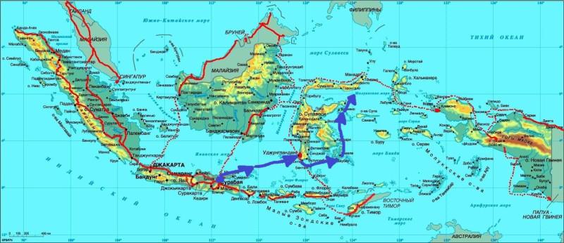 Карта Индон-04