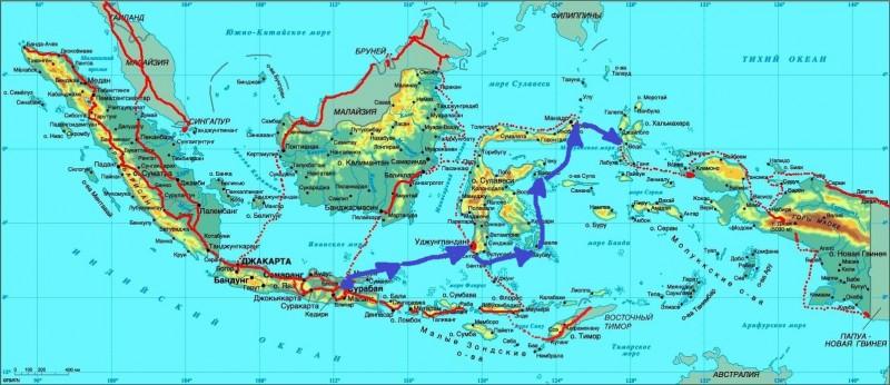 Карта Индон-06