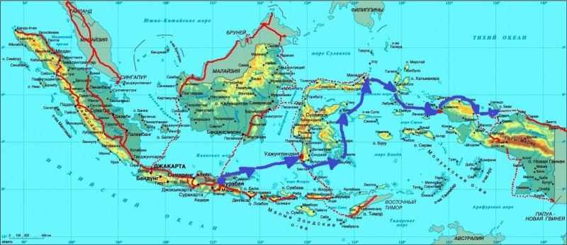 Карта Индон-08