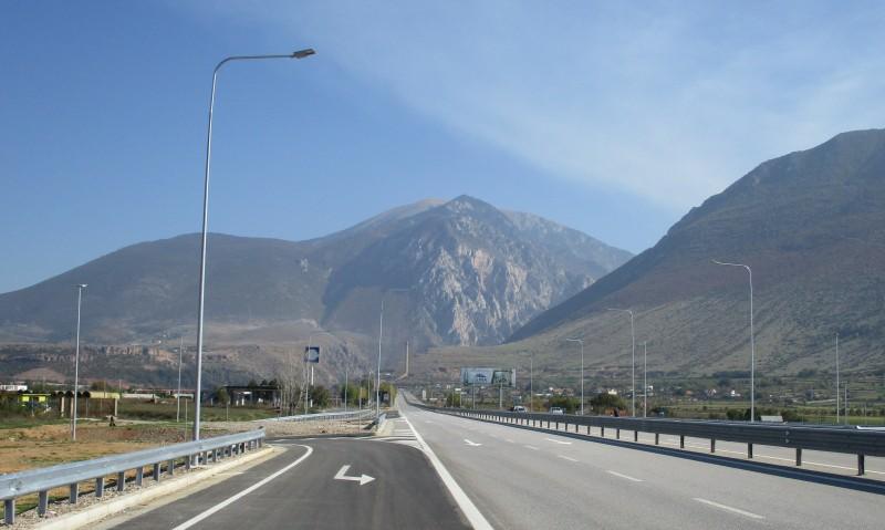 Призрень (Косово) --> Тирана (Албания), автостоп