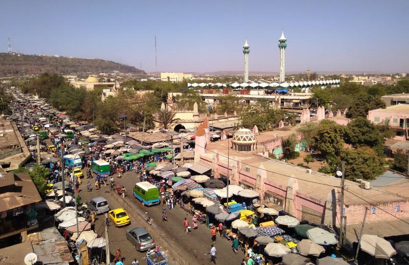 Город Бамако - малийская столица
