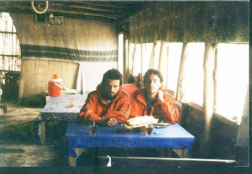 Моренков на туркменской