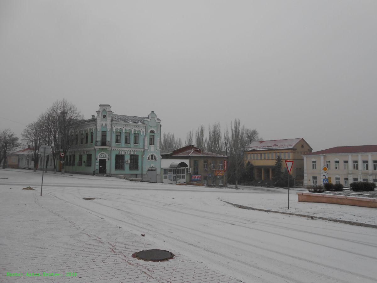 Луганск февраль 2016