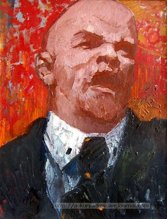 Шкраб-Вениамин-Львович--Картина.-Портрет-В.И.-Ленина.-2а