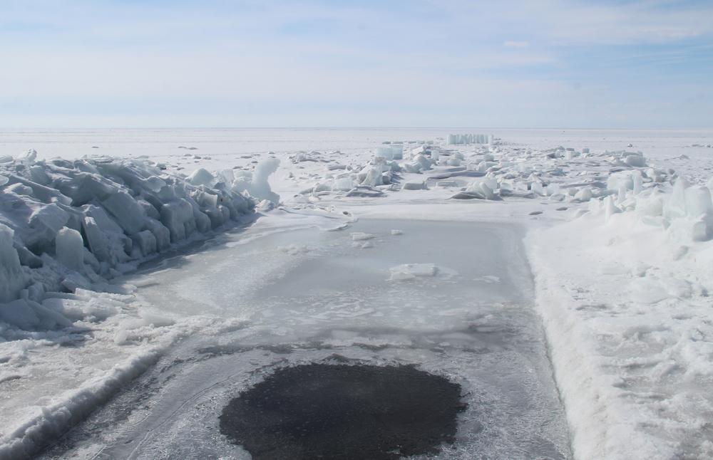 Лёд Байкала3