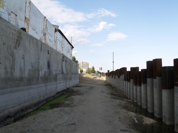 Строительство новой саратовской набережной