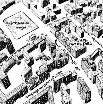 Штрудель на карте