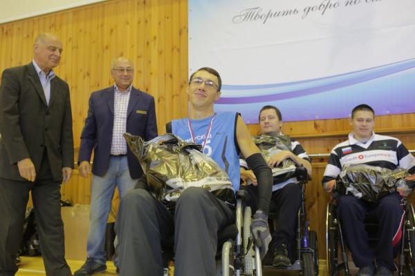 Лучший игрок в своей игровой категории - Смолянников Андрей, член Приморской команды