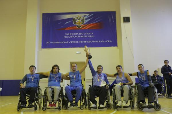 Приморская команда по регби на колясках