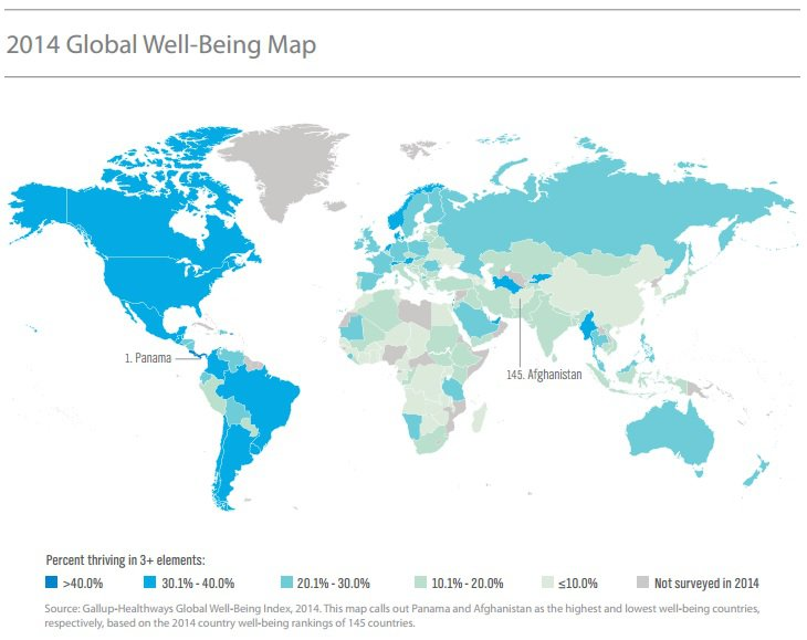 Wellbeing-world-map