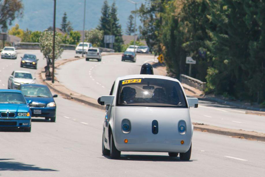 Google on public roads June 2015