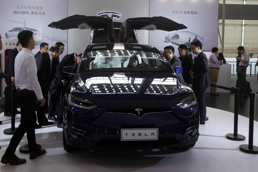 Guangzhou Auto Tesla