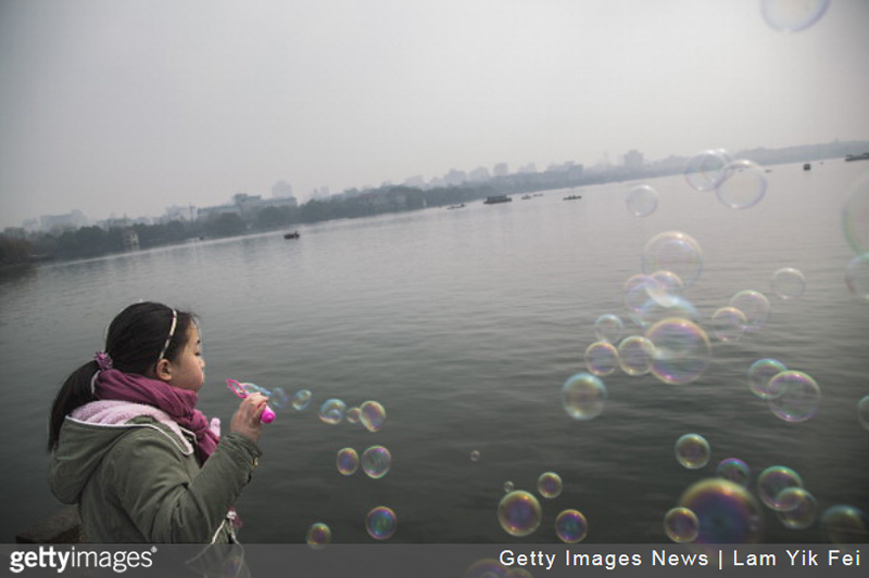 China Bubbles