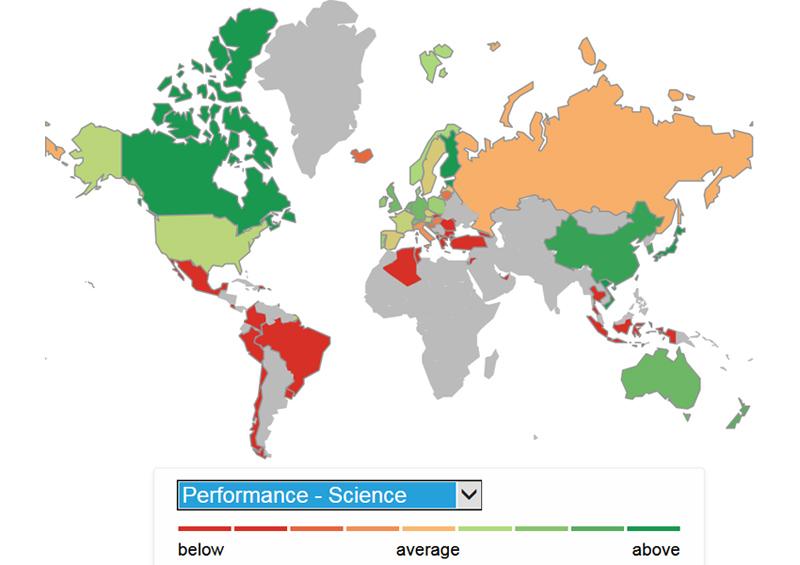 PISA-2016-map