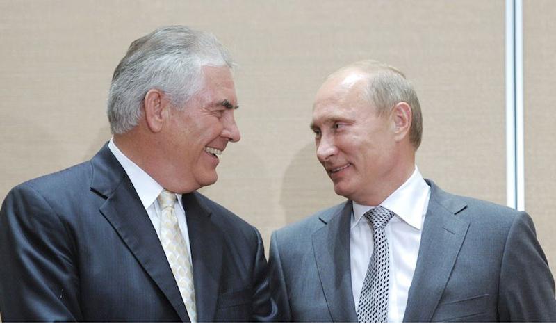 Putin-Tillerson