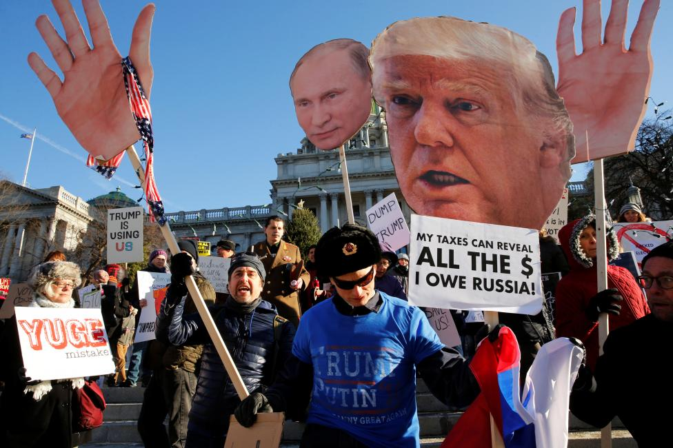О готовящейся сделке Трампа с Путиным