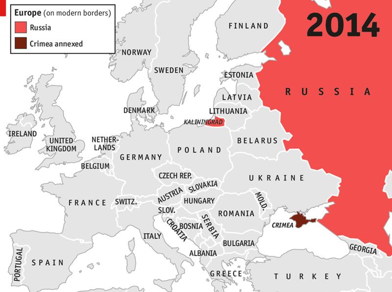 Euro Map 2014