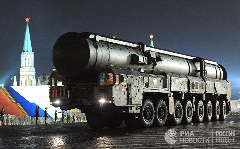 Межконтинентальная ракета РС-28 «Сармат»
