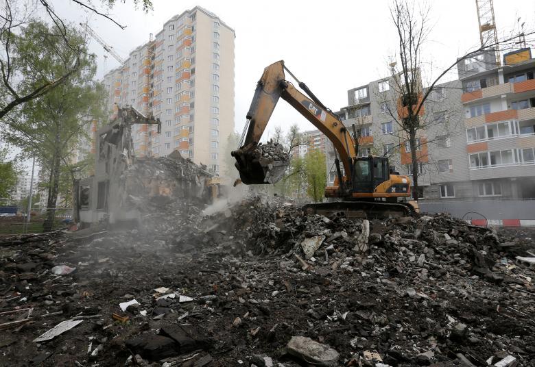 О том, как квартирный вопрос разделяет и ссорит москвичей: говорящие фото Demolition