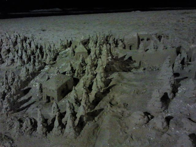 Castle on the sand