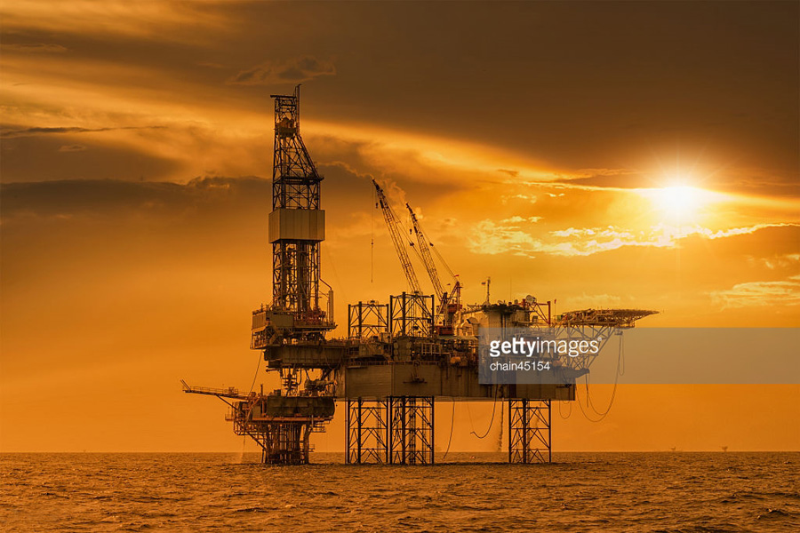 Oil Sea Drilling