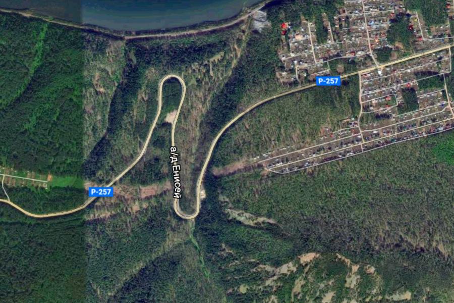 Yenisei Map