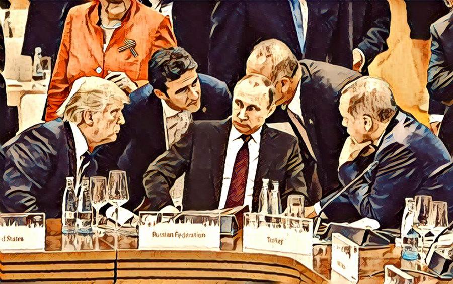 О турецком ноже в спину кремлёвским воякам Fake G20