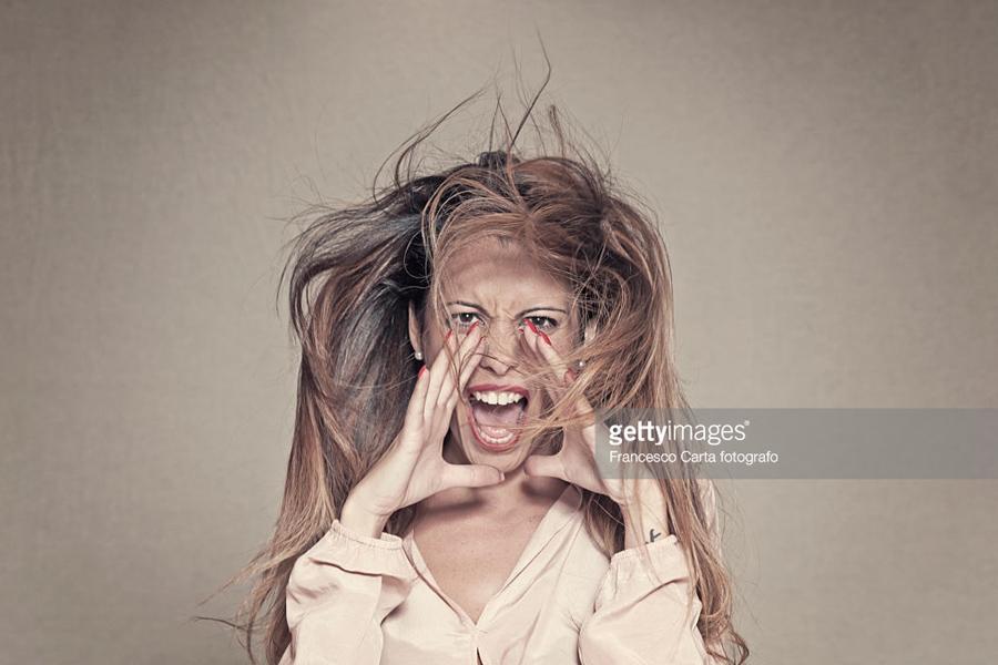 Panic-Woman