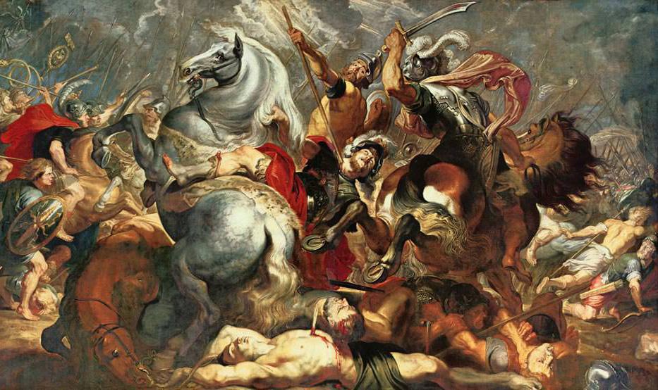 Rubens-konsul-decius-musun-savasta-olumu