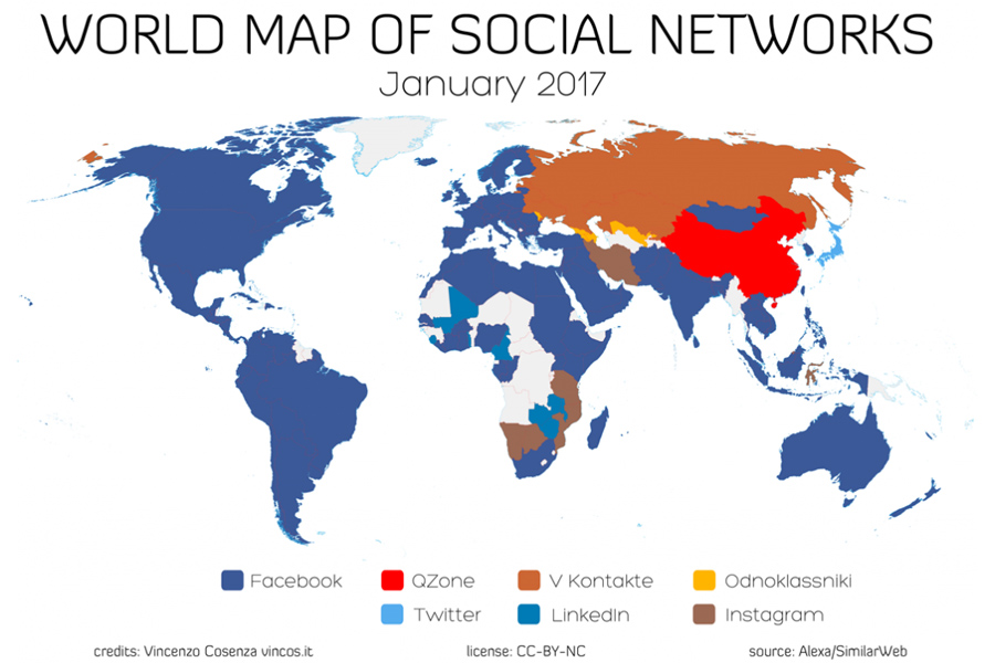 Social-World-Map