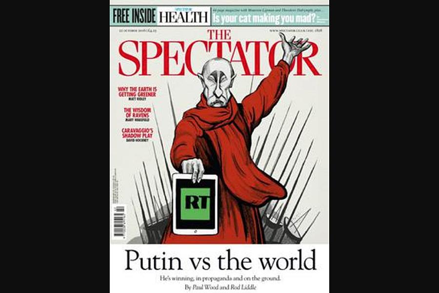 О том, как Путин заткнул за пояс Запад минимум дважды Spectator