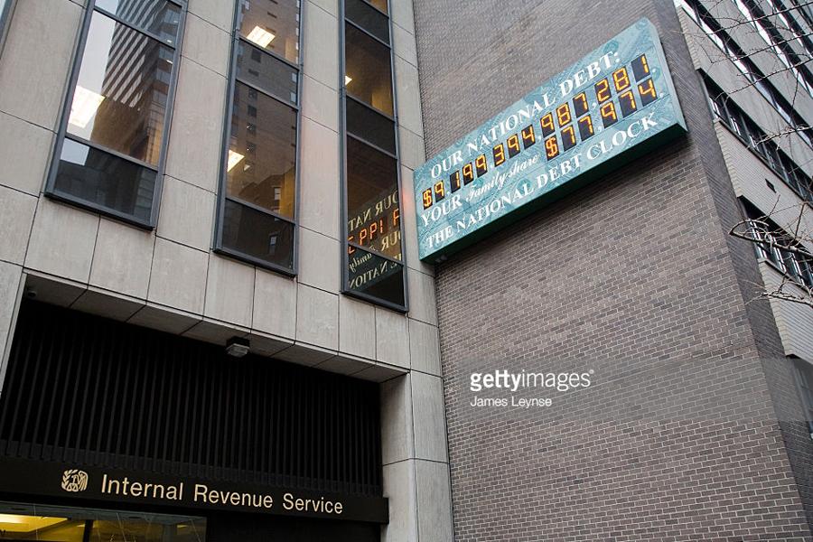 О том, что «гигантский госдолг» сделает с Америкой US Debt-Clock