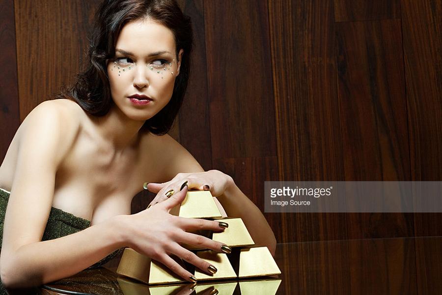 Gold-Woman